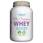 ザ オーガニック ホエイ(100%オーガニック&グラスフェッド) ※バニラ 907g The Organic Whey Vanilla Top Secret nutrition(トップ シークレット ニュートリション)