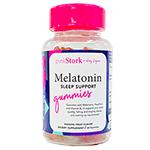 メラトニン睡眠サポートグミ パッションフルーツ 60粒 Melatonin Gummies: 60 Gummies Passion Fruit Flavor