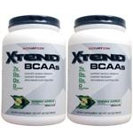 【2個セット】[大容量約1.2kg] エクステンド (BCAA+Lグルタミン+シトルリン) ※グリーンアップル