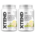 【2個セット】[大容量約1.2kg]エクステンド(BCAA+Lグルタミン+シトルリン)※レモンライム