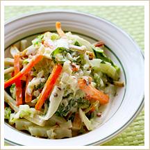 焼き白菜のサラダ