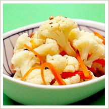 カリフラワーの甘酢サラダ