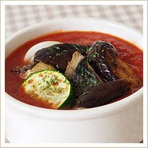 いわしと夏野菜のトマト煮