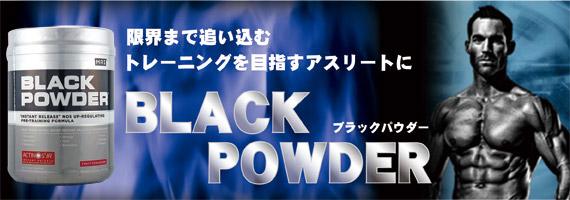 ブラックパウダー(プレワークアウト/NOフォーミュラ)※フルーツエクスプロージョン風味 800g