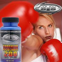 クロミウム・ピコリネート 200 (高吸収クロム/ダイエットサポート)