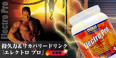 エレクトロ プロ(持久力&リカバリードリンクパウダー) ※オレンジ風味