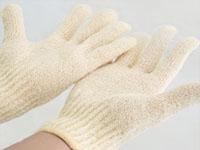 エクスフォリエーテリング バスグローブ(手袋タイプ バススポンジ)