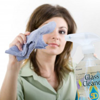 オールナチュラル ガラスクリーナー 510ml(無香料)