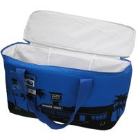 トレーダージョーズ 保冷エコバッグ(クーラーバッグ) ブルー×ブラック